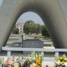 arco della pace e cupola bomba Hiroshima