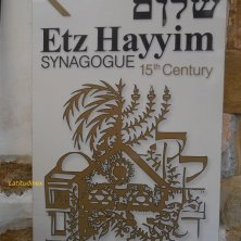 indicazione per sinagoga