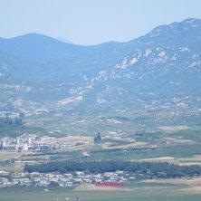 panorama dall'osservatorio DMZ
