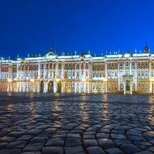 Palazzo d'Inverno e Ermitage notturno
