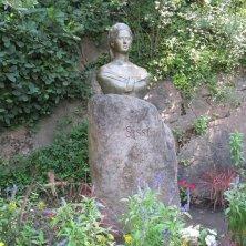 busto di Sissi Giardini di Castel Trauttmansdorff