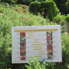 cartelli esplicativi Giardini di Castel Trauttmansdorff