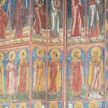 dettagli dei Santi Moldovita Bucovina