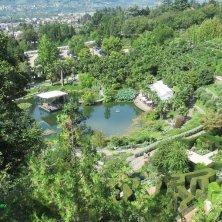 laghetto dall'alto Giardini di Castel Trauttmansdorff