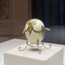 uovo Fabergé al museo