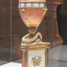 uovo Fabergé museo San Pietroburgo