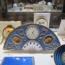 vetrina museo Fabergé