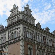 Holesovice palazzo art nouveau Praga