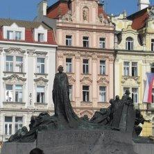 monumento art nouveu Città Vecchia Praga