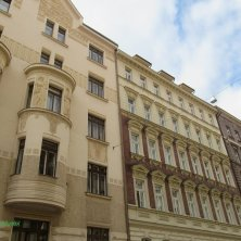palazzi quartiere Holesovice Praga