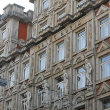 palazzo art nouveau Città Nuova Praga