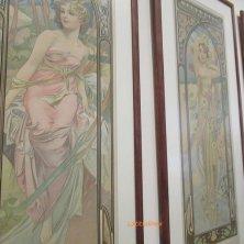quadri Mucha art nouveau