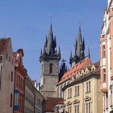 torri Santa Maria di Tyn Praga