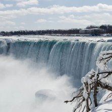 Cascate d'inverno Niagara
