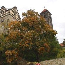 Quedlinburg collina del castello
