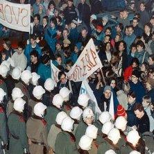 Rivoluzione di Velluto Praga 89