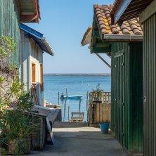 accesso al mare al villaggio ostriche