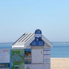 cabina sulla spiaggia Arcachon