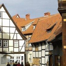 case centro storico di Quedlinburg