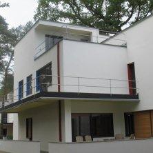 esterno casa Bauhaus Dessau