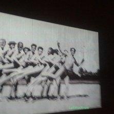 foto scherzosa degli artisti Bauhaus