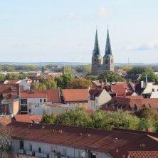 panorama dal castello Quedlinburg