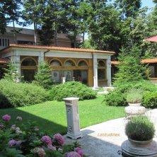 giardino casa Ceausescu