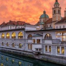 Mercato centrale a Lubiana