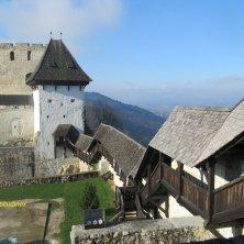 al castello di Celje