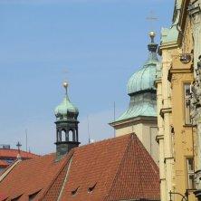 cupole Praga dal quartiere ebraico