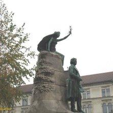 statua di Preseren