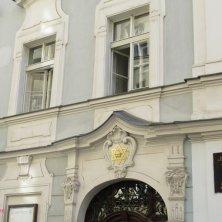 stella di David su un palazzo a Praga
