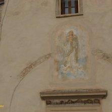abbazia di Polirone affresco Madonna
