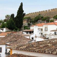 case e cinta muraria a Obidos
