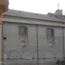 chiesa vista dal chiostro