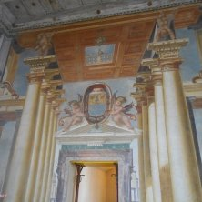 entrata sala palazzo del Giardino