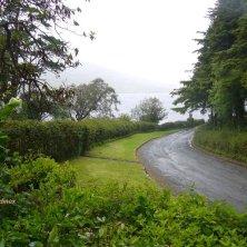 strada d'accesso al Glenveagh National Park