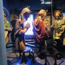 apostoli dell'orologio visti di dietro