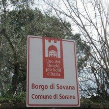 cartello borghi più belli di Italia
