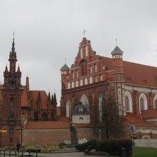 complesso gotico Vilnius