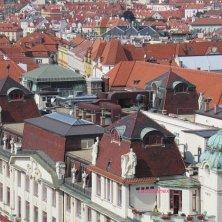 dettaglio palazzi dall'alto torre del municipio