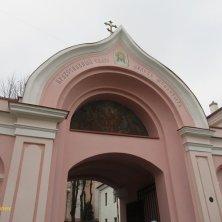 entrata monastero ortodosso Vilnius