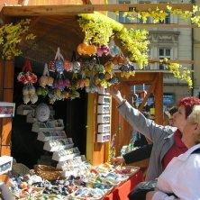 mercatino primaverile a Praga