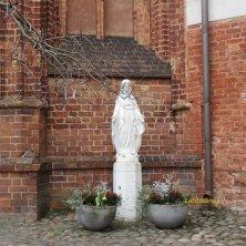 nel cortile della Sant'Anna