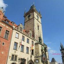 torre del Municipio Praga Città Vecchia