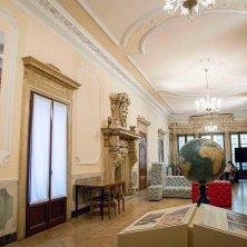 Museo di Geografia_ salone del piano nobile