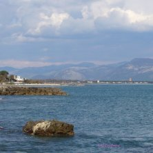 dal porto di San Felice Circeo