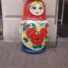 matriosca vaso a San Pietroburgo