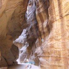 nel canyon Petra