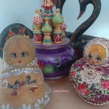 souvenir artigianali russi
